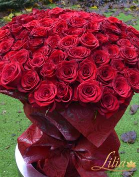 Bouquet of 101 roses